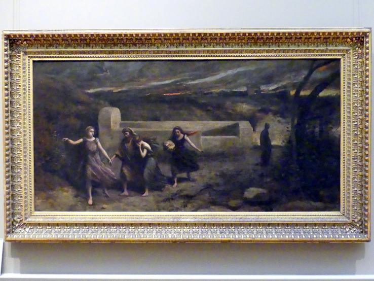 Jean-Baptiste Camille Corot: Das brennende Sodom, 1857
