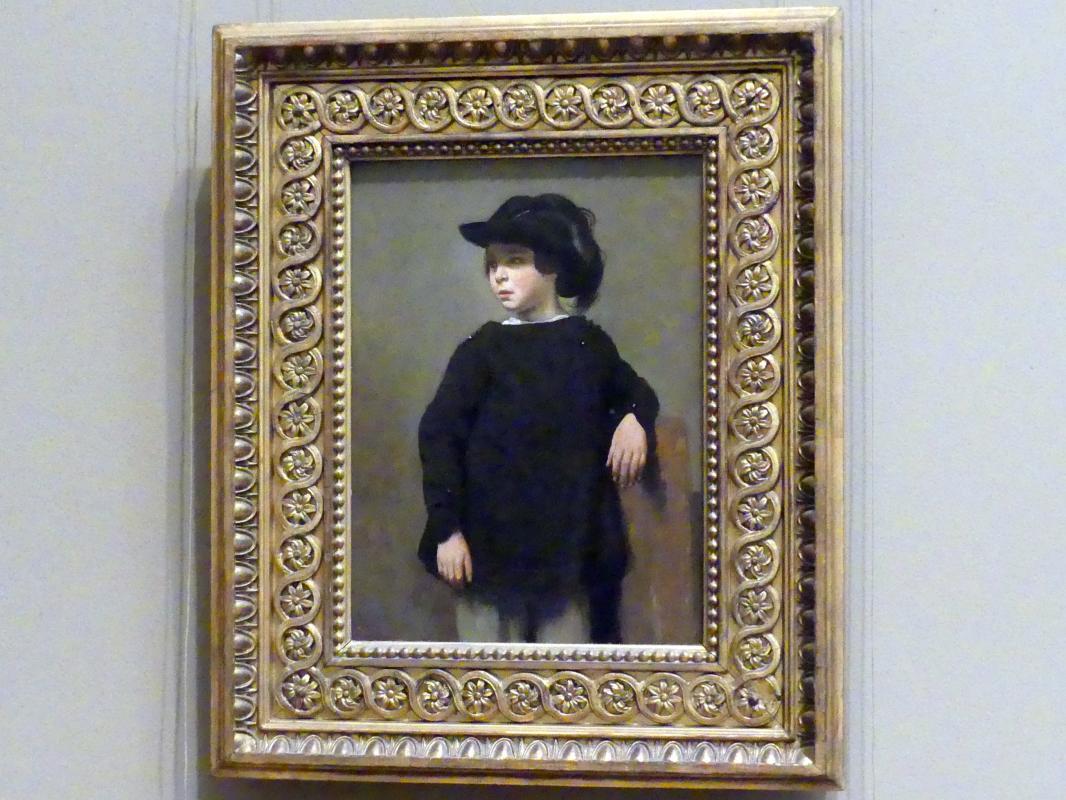 Jean-Baptiste Camille Corot: Bildnis eines Kindes, um 1835