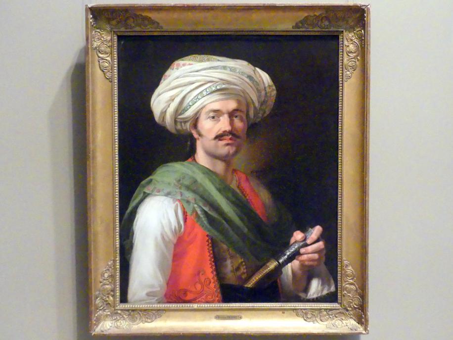 Horace Vernet: Porträt eines Mamelucken, angeblich Roustam Raza (ca. 1781-1845), 1810