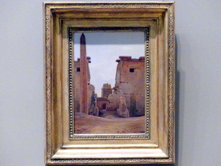 Antoine-Xavier-Gabriel de Gazeau, Comte de La Bouëre: Das Tor zum Luxor-Tempel, 1836