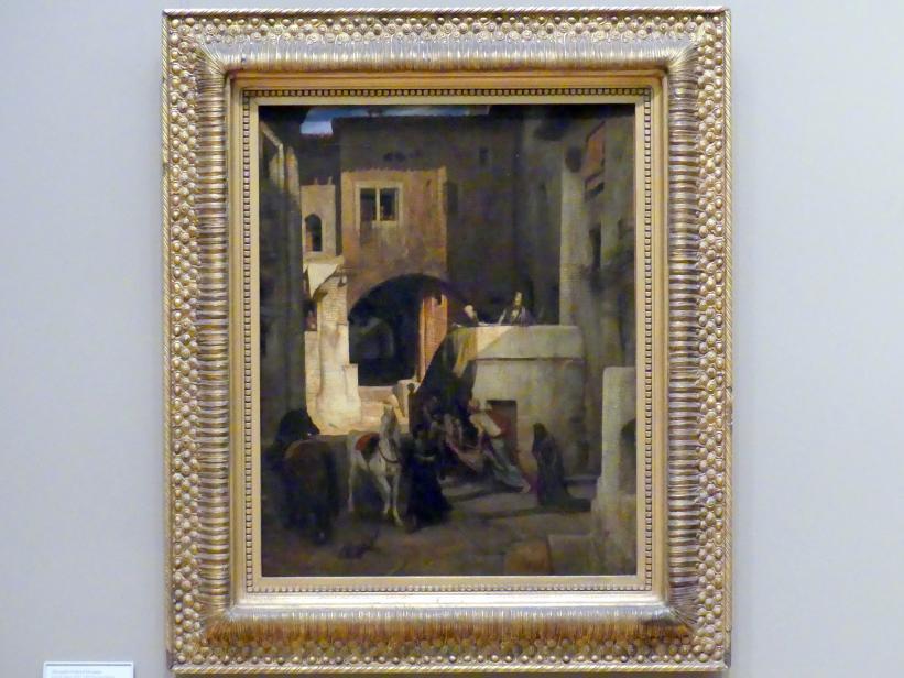 Alexandre-Gabriel Decamps: Der Barmherzige Samariter, um 1853