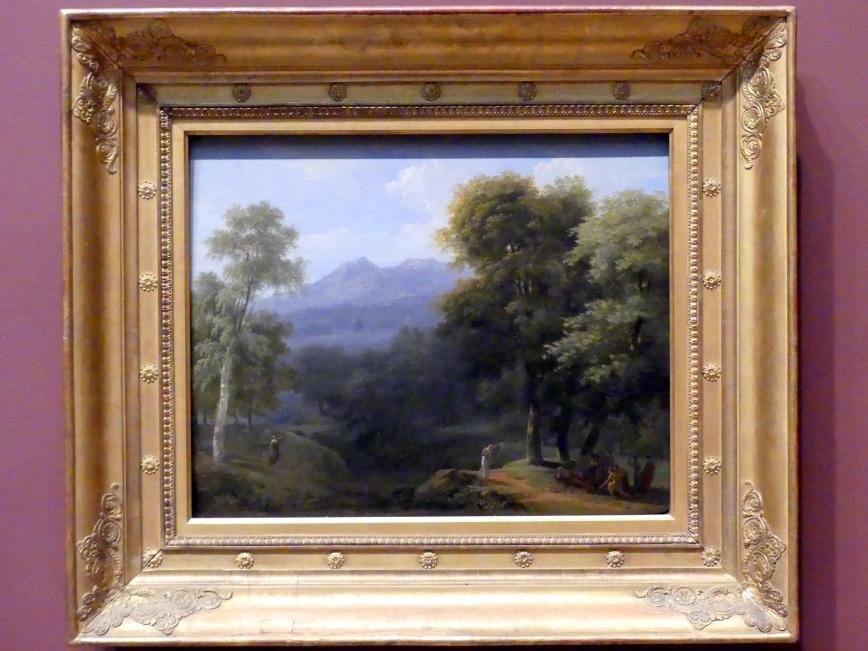 Jean-Victor Bertin: Klassische Landschaft mit Figuren, 1803