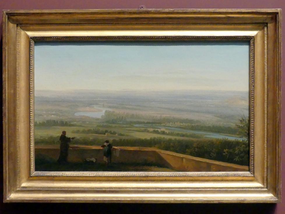 Simon Denis: Blick von der Villa d'Este, Tivoli, um 1786 - 1806