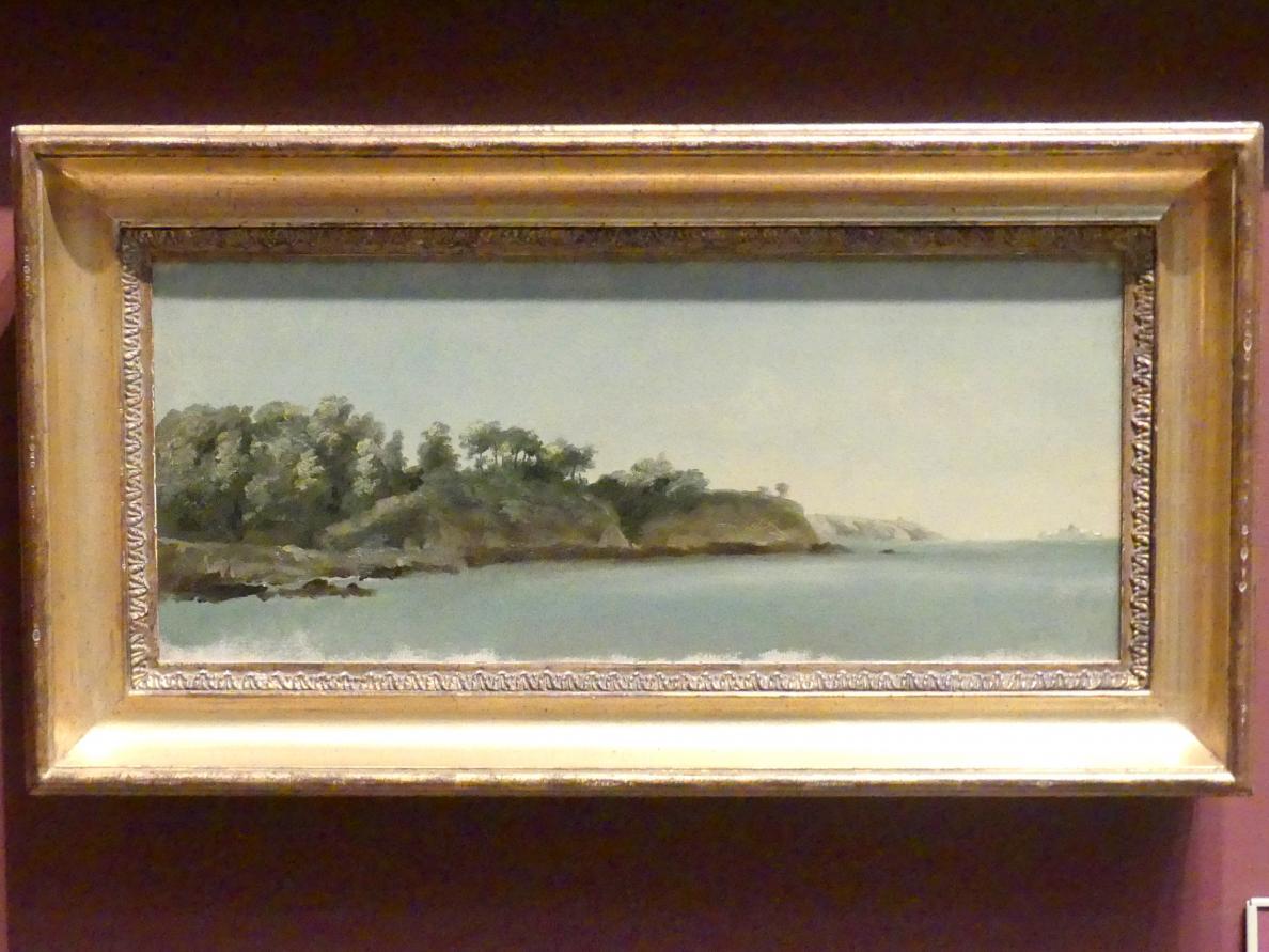 Pierre-Henri de Valenciennes: Ufer der Rance, Bretagne, 1785