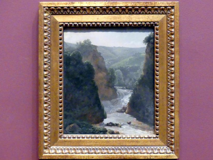 Simon Denis: Der Fluss Aniene, Tivoli, um 1786 - 1789