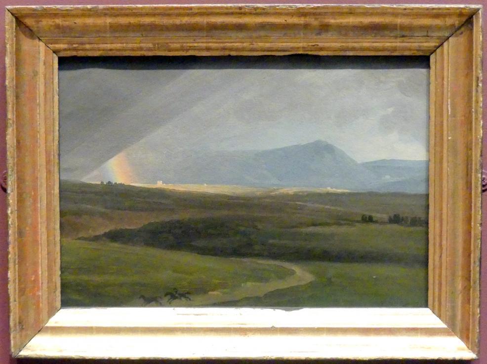 Simon Denis: Stürmische Landschaft bei Rom, um 1786 - 1806