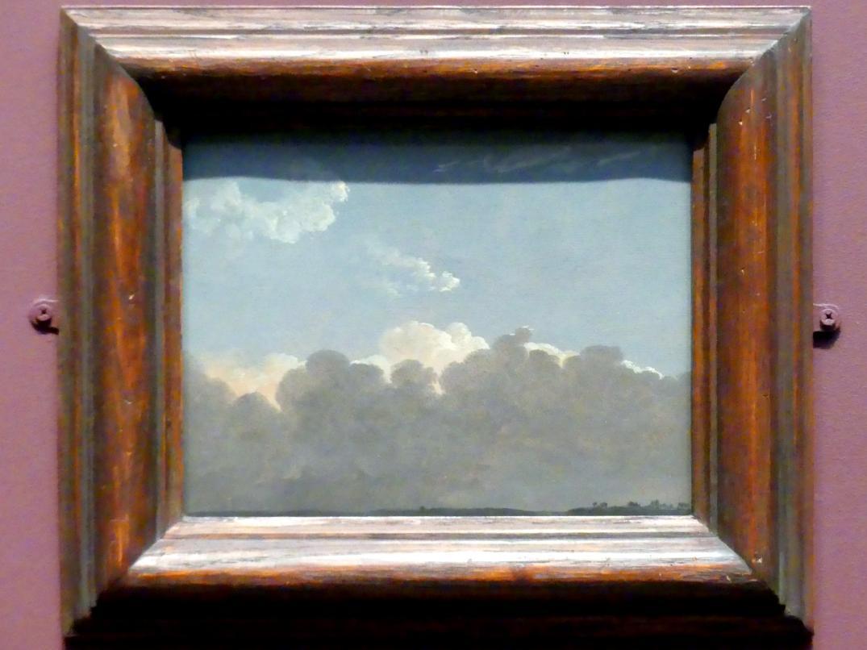 Simon Denis: Wolkenstudie (entfernter Sturm), um 1786 - 1806