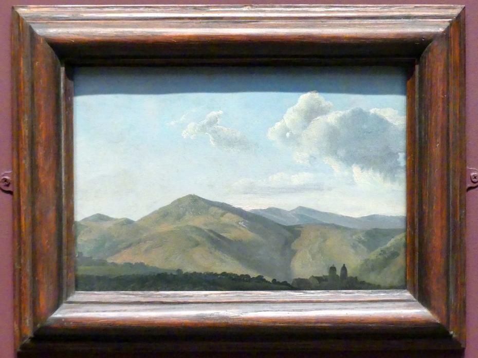 Simon Denis: Gebirgslandschaft bei Vicovaro, um 1786 - 1797