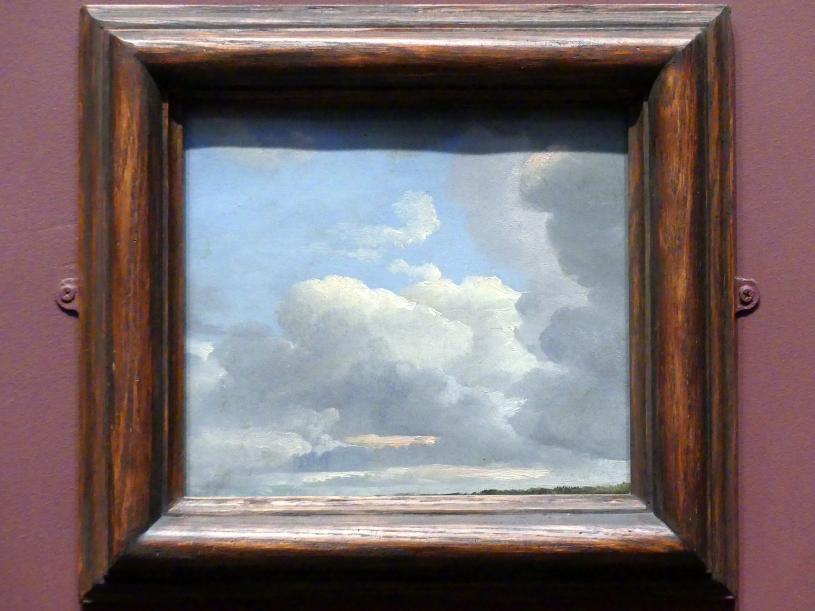 Simon Denis: Wolkenstudie (früher Abend), um 1786 - 1806