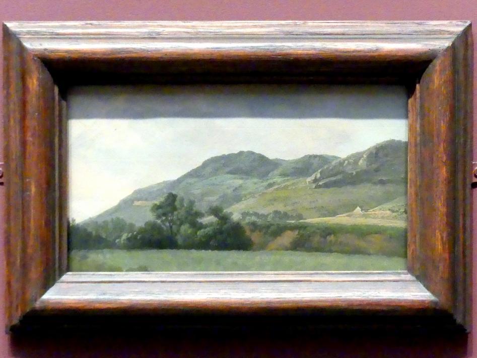 Simon Denis: Gebirgslandschaft bei Tivoli, um 1786 - 1797