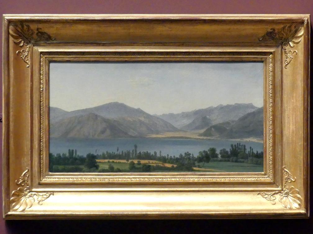 Jean-Joseph-Xavier Bidauld: Fuciner See in den Abruzzen, um 1789