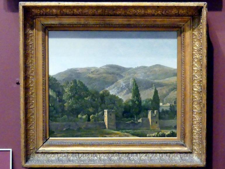Simon Denis: Befestigte Mauer in Italien, um 1786 - 1806