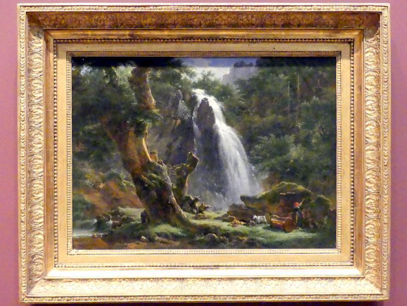 Achille Etna Michallon: Wasserfall bei Mont-Dore, 1818
