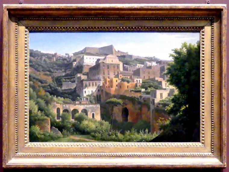 Alexandre-Hyacinthe Dunouy: Castel Sant'Elmo von Chiaia, Neapel, 1813