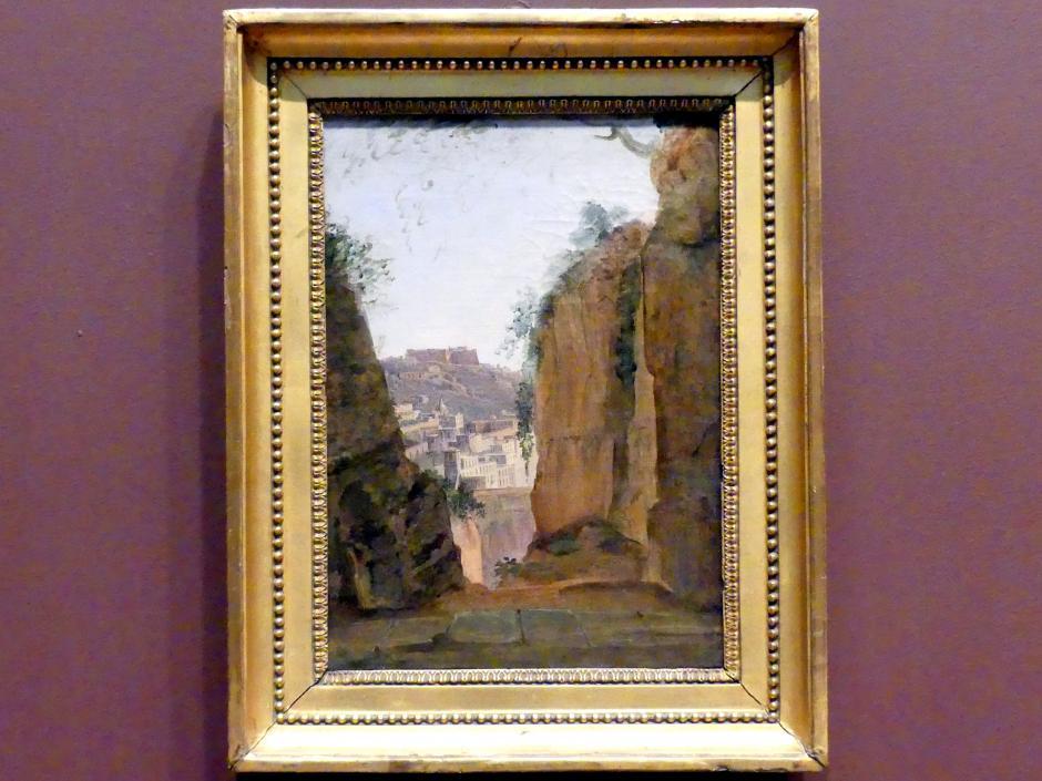Franz Ludwig Catel: Vergils Grab, Neapel, um 1818