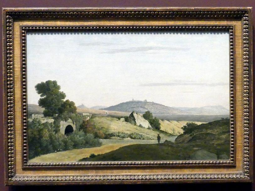 Thomas Jones: Ponte Loreto bei Nettuno, vor 1787