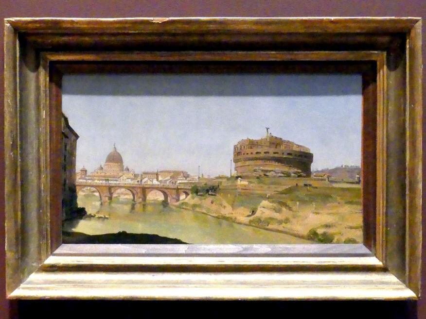 Gustaf Söderberg: Rom mit dem Petersdom und der Engelsburg, 1821