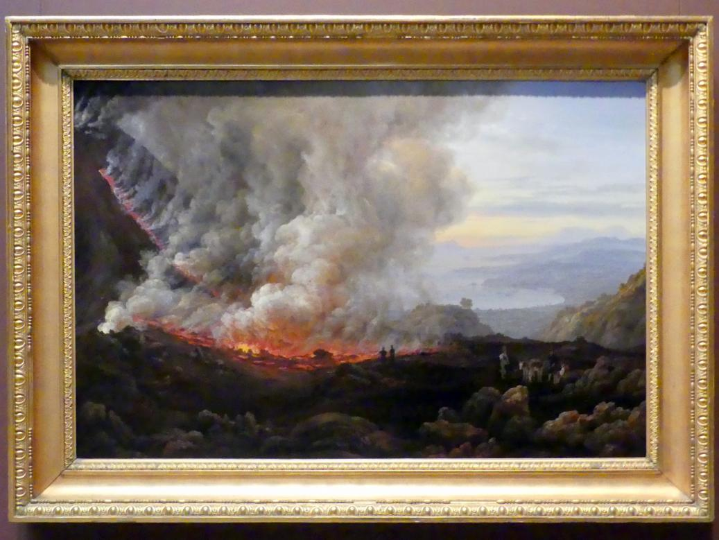 Johan Christian Clausen Dahl: Der Ausbruch des Vesuv, 1824