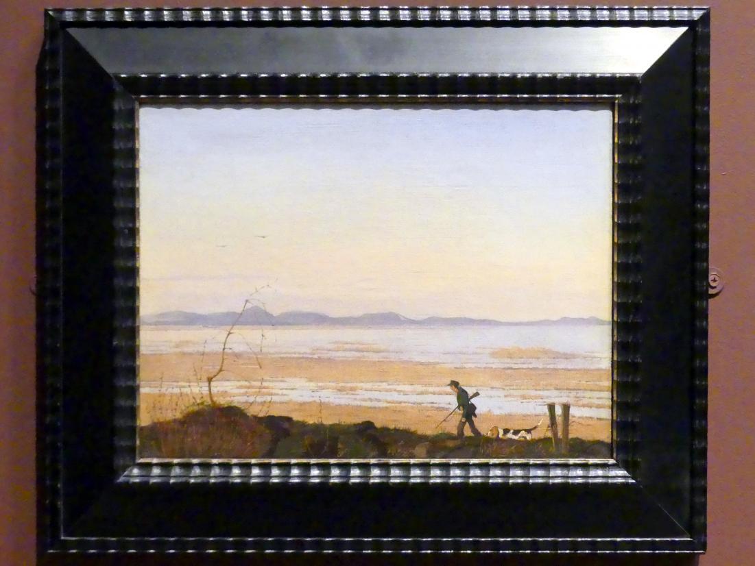 Johan Thomas Lundbye: Eines Abends am See Arresø, um 1837