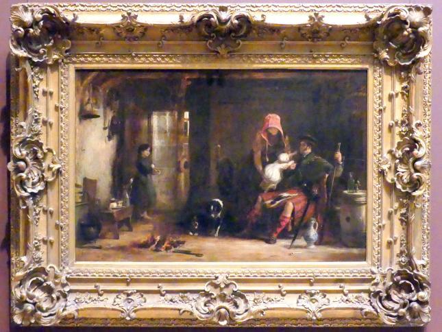 David Wilkie: Die Hochlandfamilie, 1824