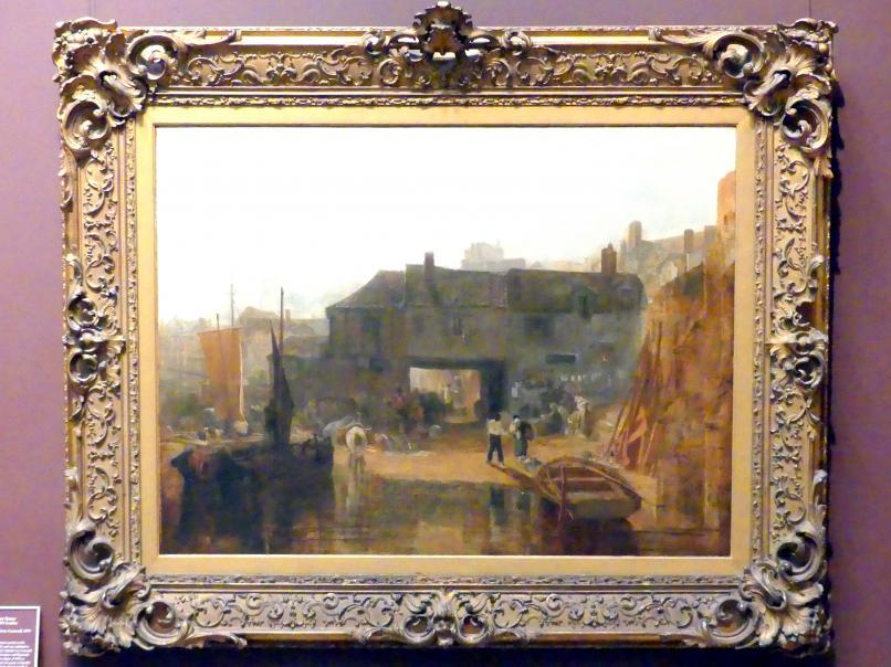 William Turner (Joseph Mallord William Turner): Saltash mit der Wasserfähre, Cornwall, 1811