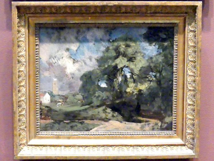 John Constable: Stoke-by-Nayland, um 1810 - 1811