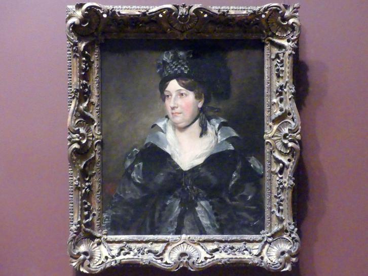 John Constable: Mrs. James Pulham Sr. (Frances Amys, ca. 1766-1856), 1818