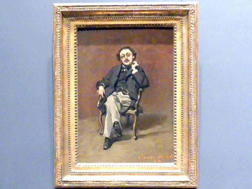 Claude Monet: Dr. Leclenché, 1864
