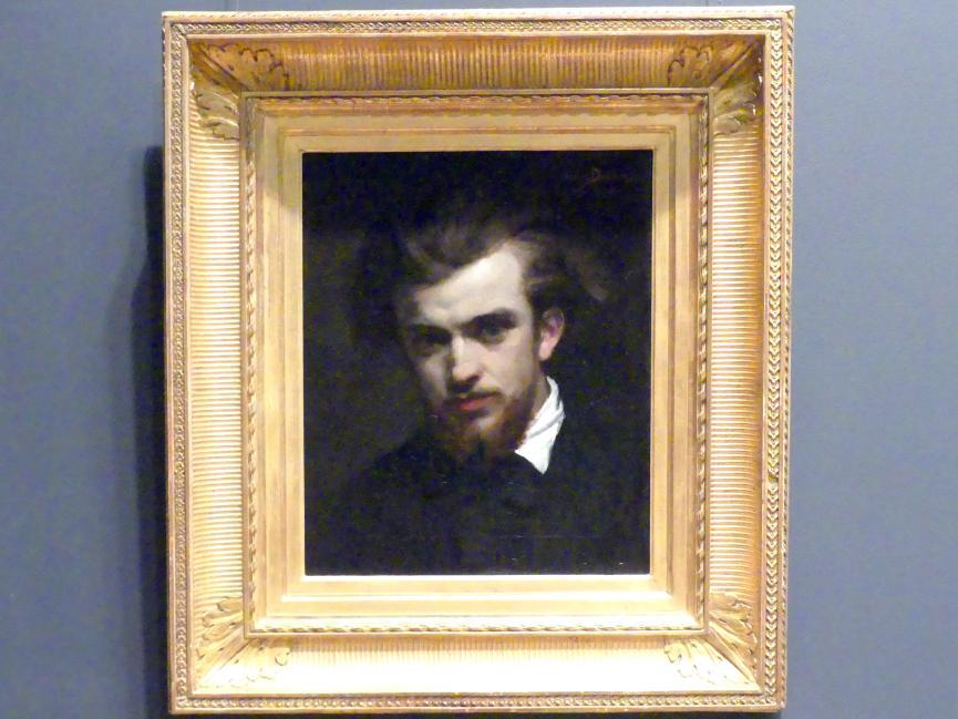 Charles Auguste Émile Durand (Carolus-Duran): Henri Fantin-Latour (1836-1904), 1861