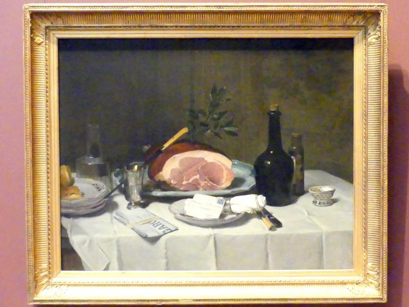 Philippe Rousseau: Stillleben mit Schinken, um 1870 - 1880