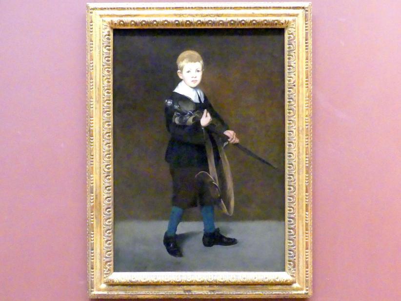 Édouard Manet: Junge mit einem Schwert, 1861
