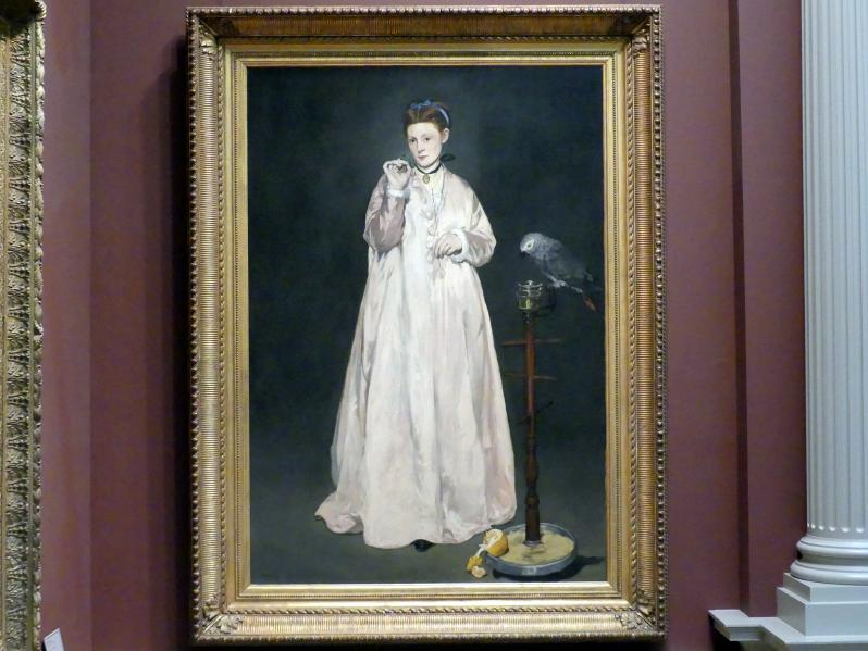 Édouard Manet: Junge Dame aus dem Jahr 1866, 1866