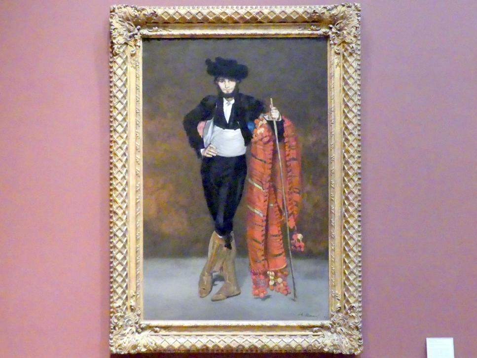 Édouard Manet: Junger Mann im Kostüm eines Majo, 1863