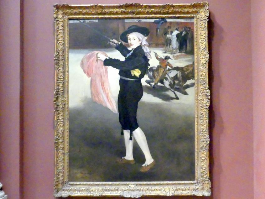 Édouard Manet: Mademoiselle V... im Kostüm eines Espada, 1862