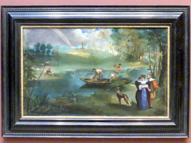 Édouard Manet: Fischen, um 1862 - 1863