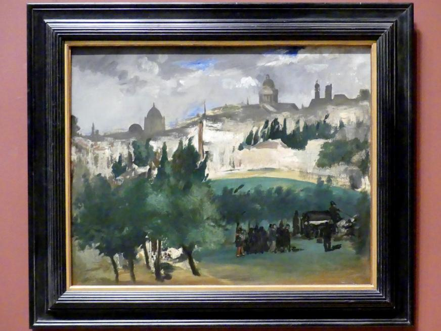 Édouard Manet: Begräbnis, um 1867