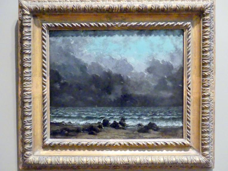 Gustave Courbet: Das Meer, nach 1865
