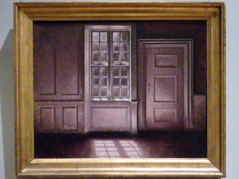 Vilhelm Hammershøi: Mondschein, Strandgade 30, 1900 - 1906