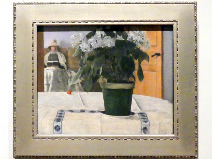 Fernand Khnopff: Hortensie, 1884