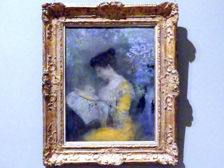 Odilon Redon: Madame Arthur Fontaine (Marie Escudier, geb. 1865), 1901