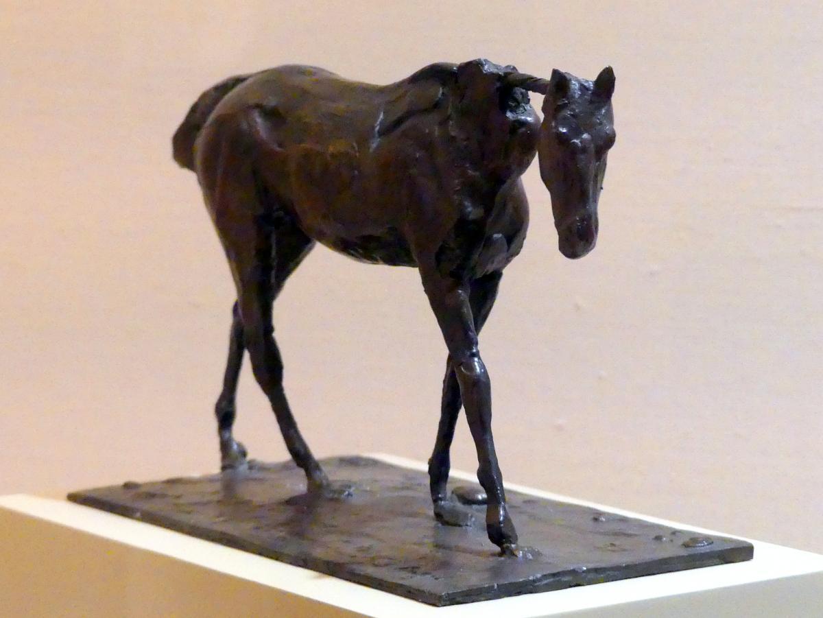 Edgar Degas: Vollblutpferd gehend, vor 1881