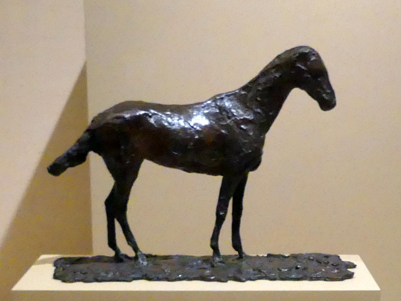 Edgar Degas: Studie eines Mustangs, vor 1865