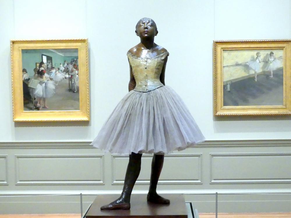 Edgar Degas: Kleine vierzehnjährige Tänzerin, um 1880