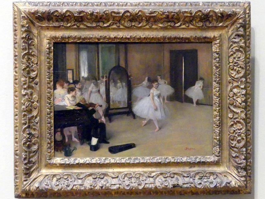 Edgar Degas: Der Tanzsaal, um 1870