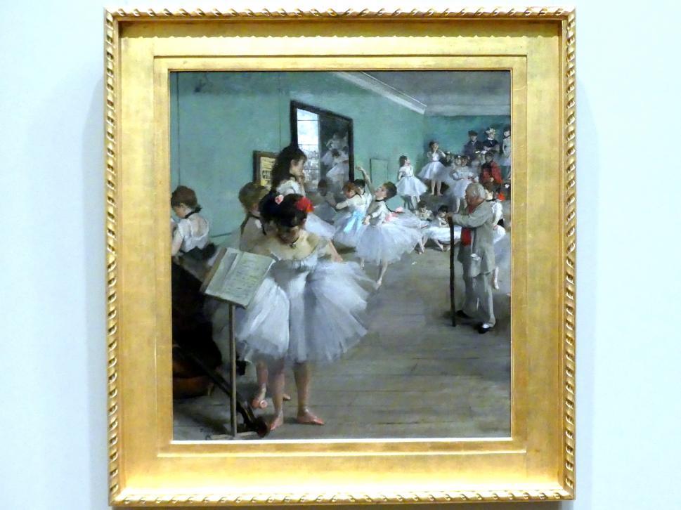 Edgar Degas: Der Tanzsaal, 1874