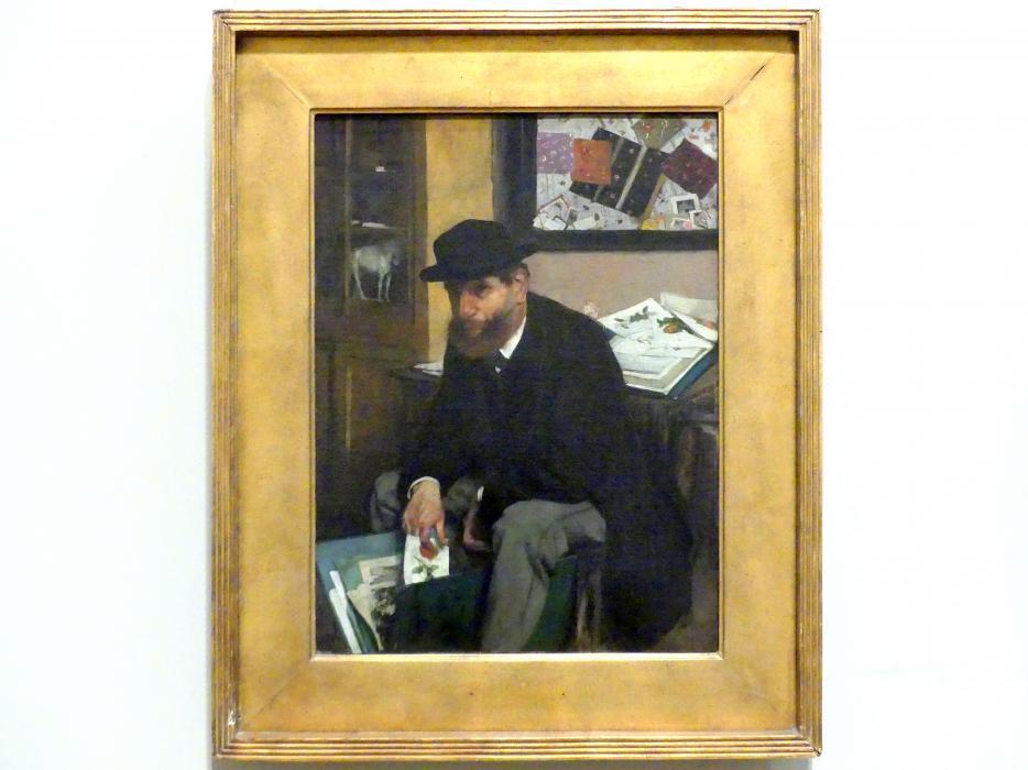 Edgar Degas: Der Amateur (The Collector of Prints), 1866