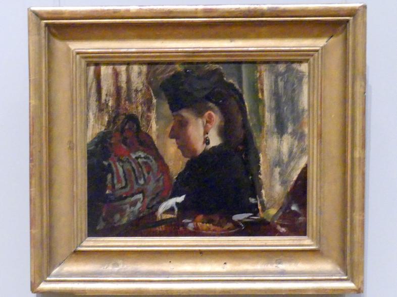 Edgar Degas: Mademoiselle Marie Dihau (1843-1935), 1867 - 1868