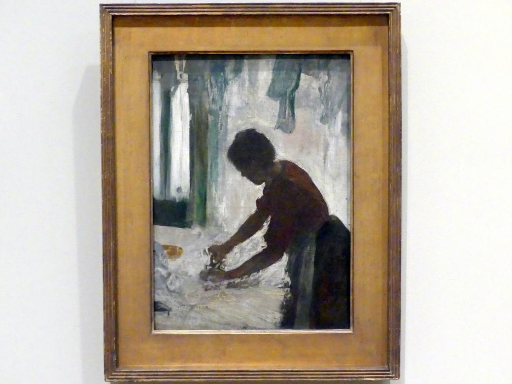 Edgar Degas: Frau beim Bügeln, 1873