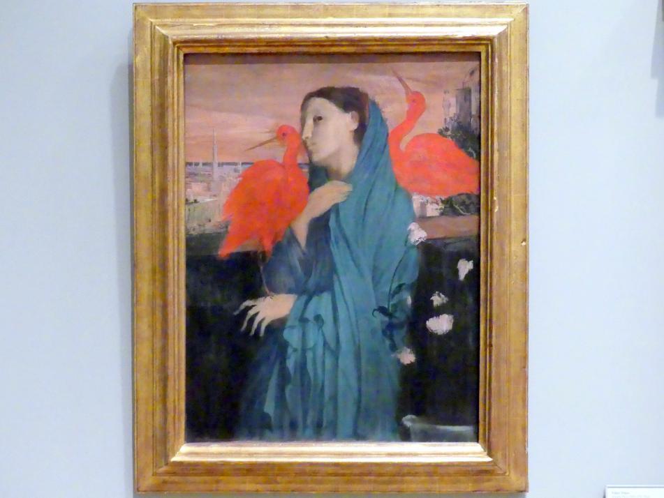 Edgar Degas: Junge Frau mit Ibis, 1860 - 1862
