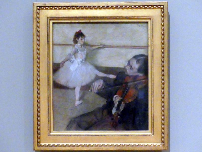 Edgar Degas: Die Tanzstunde, um 1879